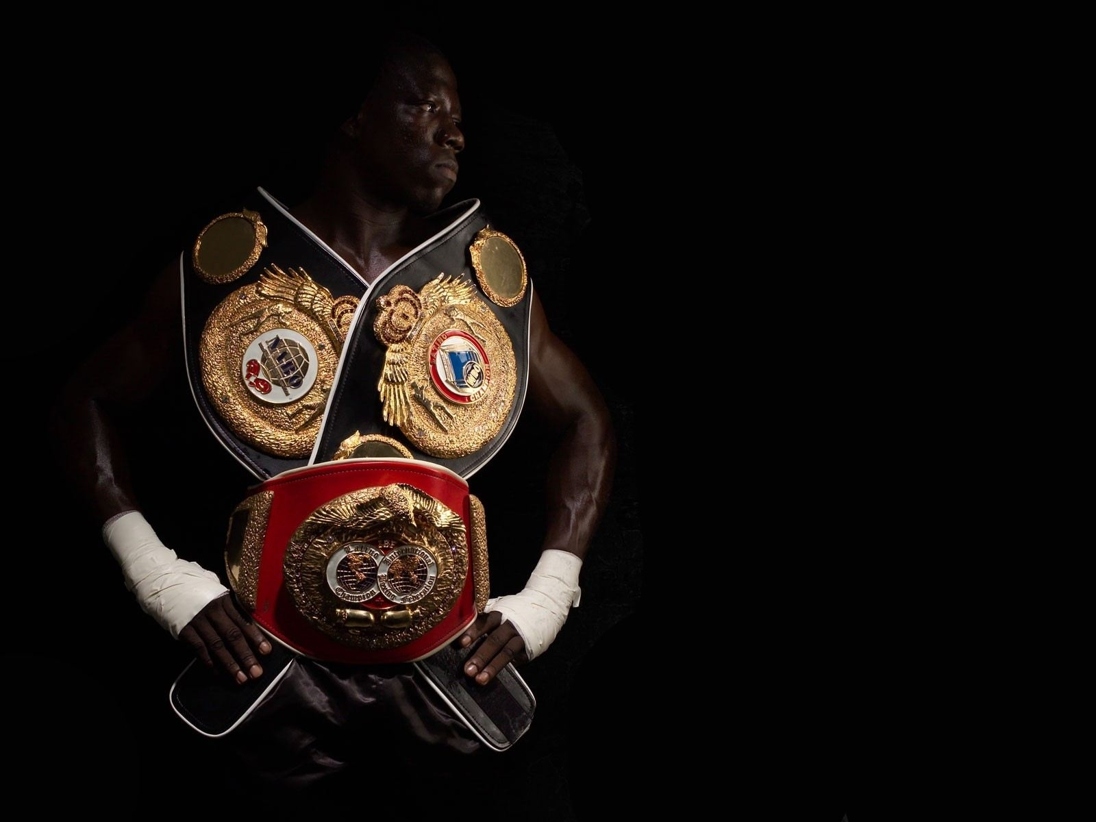 Спорт бокс чемпион пояса бинты обои