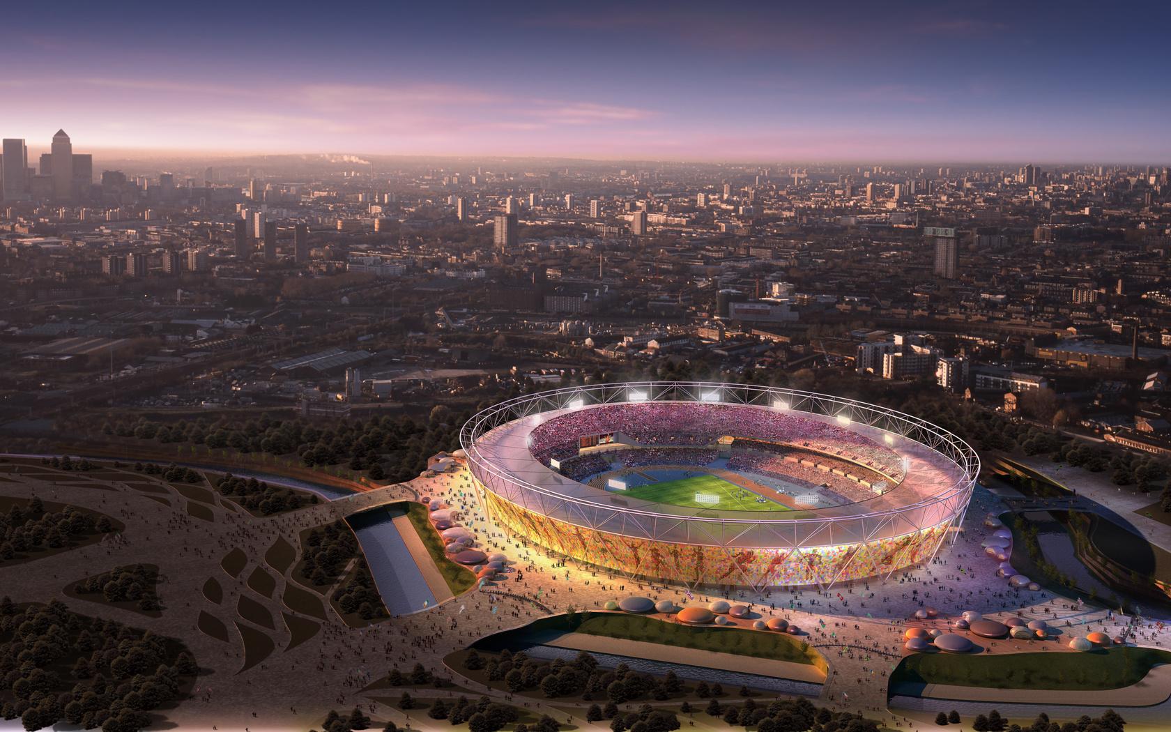 Стадион лондон обои рабочий стол