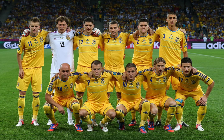 Спорт футбол сборная украины украина