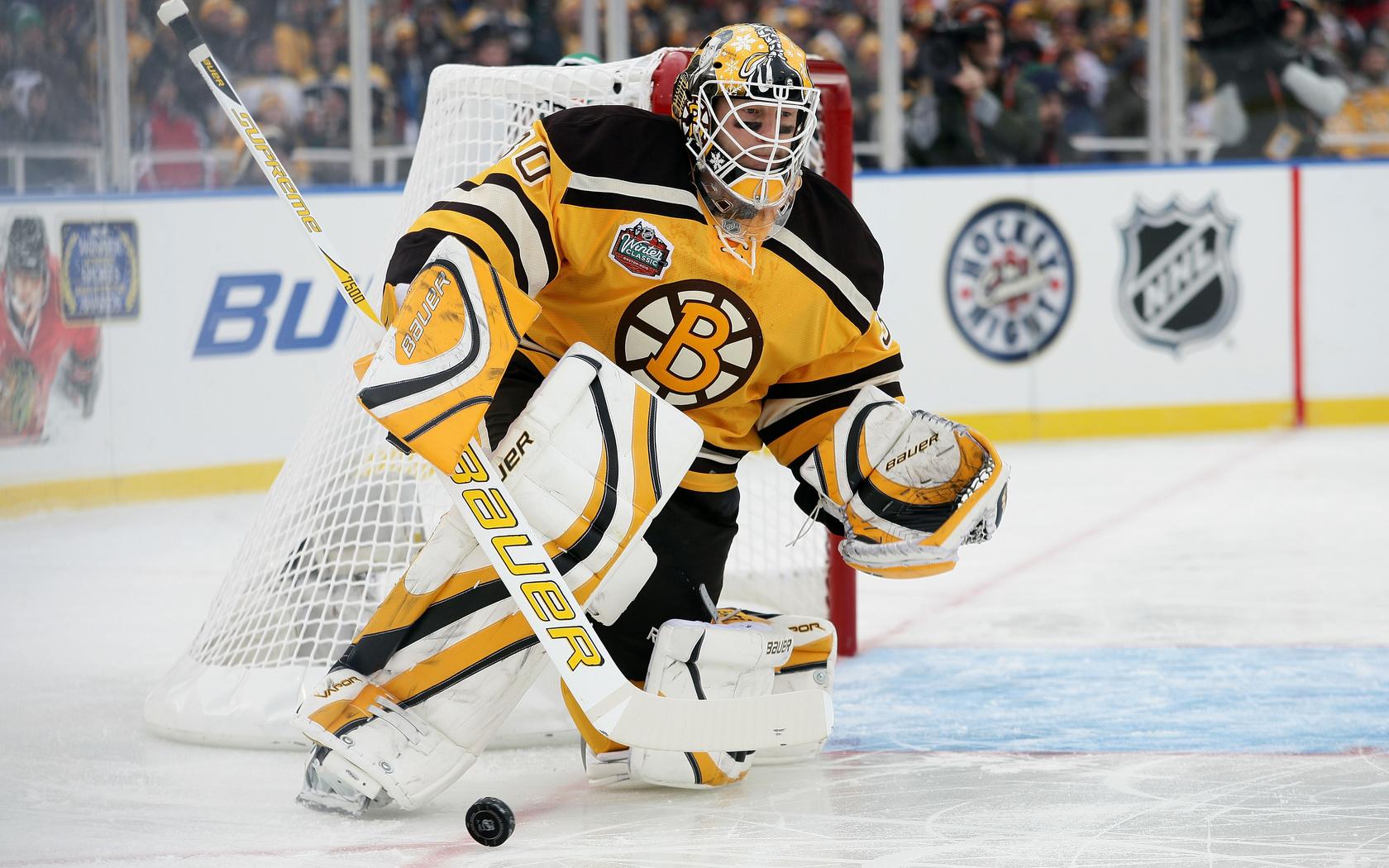 Спорт хоккей голкипер boston bruins обои